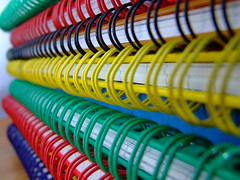 Binders (dellow) Tags: blue red color colour macro green focus colorful colourful shape vanishing depth