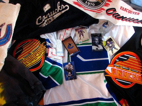 Canucks Memorabilia