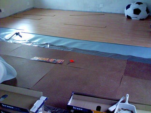 Wooden floor blues