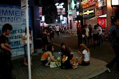 Perfect Mess 3 (Yuki Yaginuma) Tags: girl japan tokyo asia sitting eating shibuya midnight