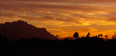 Superstition Mountain warm Sunrise.jpg (melissaenderle) Tags: mountain desert sky arizona