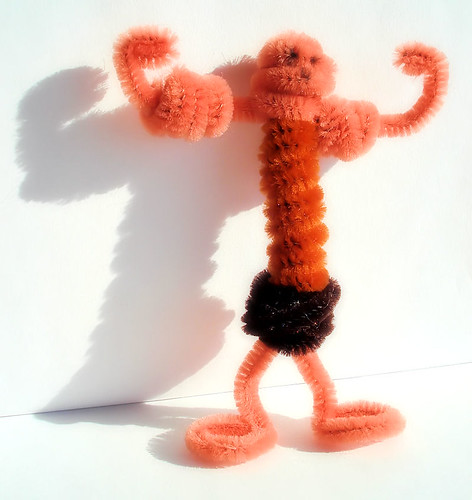 Pipe Cleaner Muscle Man by Bob.Fornal