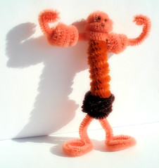 Pipe Cleaner Muscle Man (Bob.Fornal) Tags: orange brown man color muscles children rust muscle pipe cleaner pipecleaner aplusphoto chrld