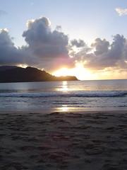 Hanalei Bay, Kauai - 18 (slb223) Tags: sunset kauai hanaleibay