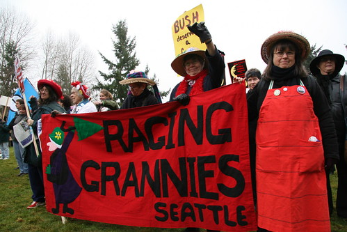 Raging Grannies Seattle