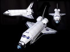 Paper Space Shuttle Orbiter (danhuby) Tags: paper model space shuttle