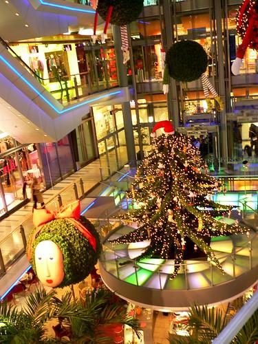 Düsseldorf futuristic shopping architecture