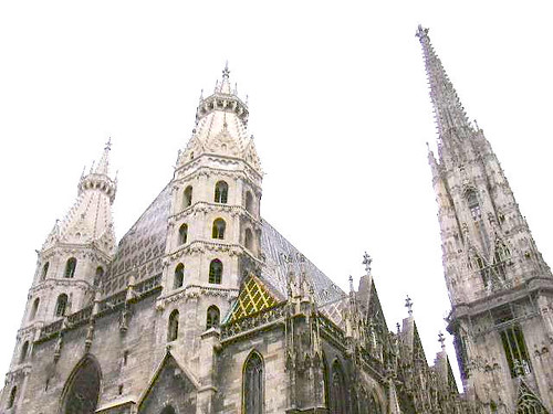 The towers of St. Stephen's Cathedral