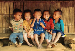 Lao Kids by Mathew Knott @ Flickr.com