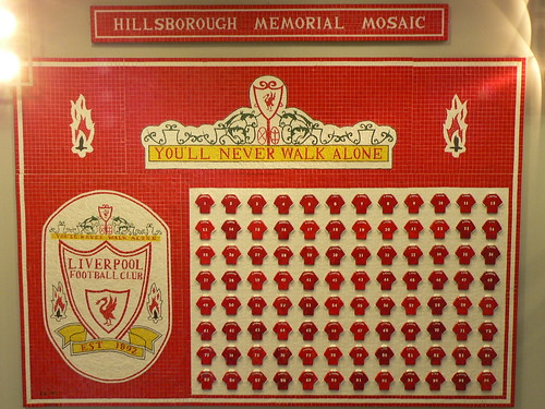 Hillsborough Memorial Mosaic by AndyNugent.