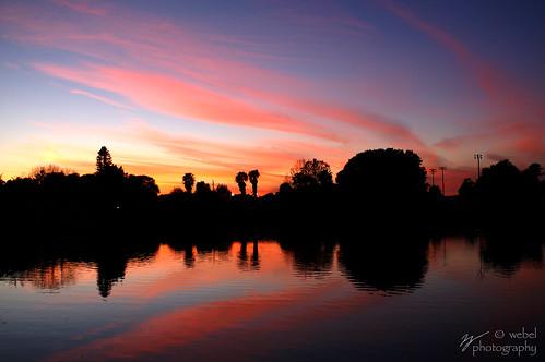 Sunset At St Petersburg, Florida