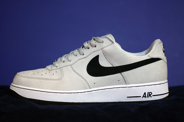Air Force One Grey Suede