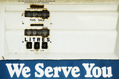 We Serve You (madewithpixels) Tags: uk blue urban white war text numbers pollution signage forsakenthings font environment westyorkshire christmasday numeric petroleum 1on1 concern petrolpump dewsbury weserveyou mwpfolio
