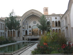 "Iran - Kashan: Opposite End Of Traditional House ""Tabatabei"" (itfcfan) Tags: iran kashan"