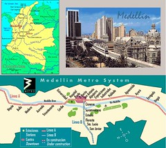 MedellinMetro (interfaced) Tags: informationdesign infographics map