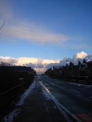 high street sky in st combs (Byrnesyliam) Tags: sky stcombs highstreet clouds