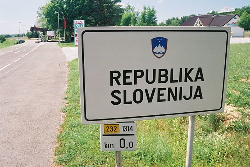 Slovenia - Hungary border