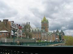 Je me souviendrai (Franssoua) Tags: voyage city trip castle hotel quebec amour qubec dufferin chteau frontenac htel gouverneur