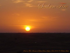 Soul on Fire (fariha_shah) Tags: soul fire soulonfire dubai dune bashing safari desert sunset sun horizon fars fariha gemworld princess farihashah cbm lahore ka