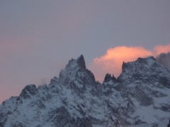 pic from car (euphonies) Tags: montblanc mountains italy courmayeur