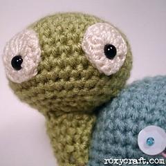 poka turtle (Roxycraft) Tags: amigurumi softies plush mos crochet handmade