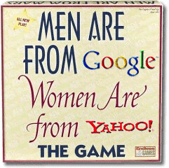 Men are from Google, Women are from Yahoo! by inju