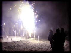 joulukuu5 2005 114b (Fantasyfan.) Tags: snow topv111 tag3 taggedout backlight rural wow cool topv333 tag2 tag1 shadows fireworks north newyear celebration pudasjrvi fantasyfanin prj gettyholidays2010