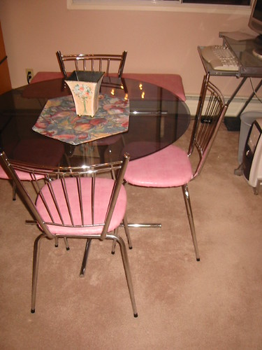 Re-covered Dining Room Chairs