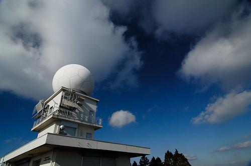 a Haigamine Meteorological Radar