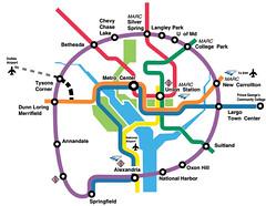 Purple Line Map  DC Metro