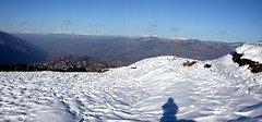 Panorama of Kashmir Mountains from Osiah (NotMicroButSoft (Fallen in Love with Ghizar, GB)) Tags: kashmir murree snow peaks