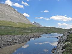 Reflection (ubik14) Tags: canada jasper hiking canadianrockies