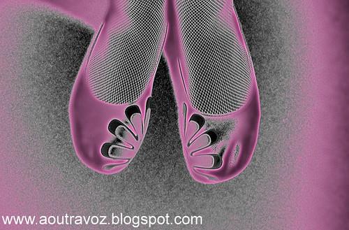 Sapatos de princesa