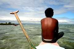 the watch (Farl) Tags: sea island boat philippines watch bow cebu oar channel boatman banca hilutungan cebusugbo