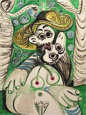 """Picasso, """"O Beijo"""" (1969)"""