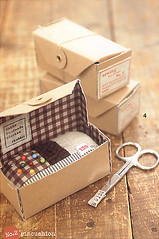 sewing box (KellyPrizelPhoto) Tags: japanese pretty japanesecraftbook crafty organized japanesecraftbooks craftbook