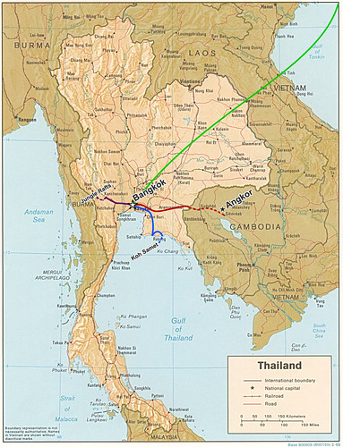 maps of thailand and cambodia. Thailand/Cambodia map
