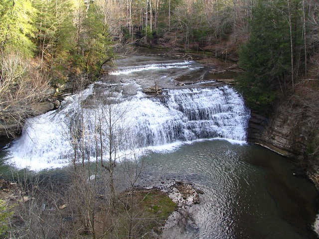 Middle Falls at Burgess Falls State Park, TN