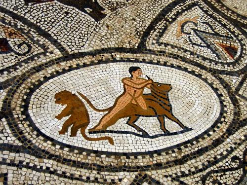Roman Marble Floor Mosaics – Volubilis – Morocco, Africa