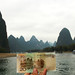 The Li River, Guilin. 桂林,漓江