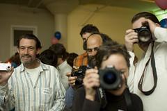 gente tomando fotos, por Stewart