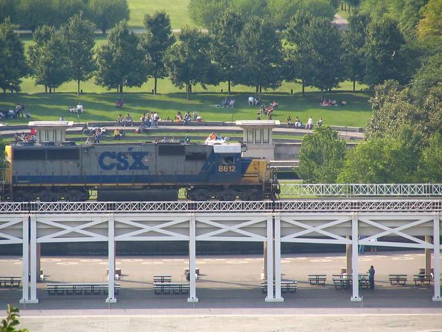 Train Bridge, Bicentennial Park, Nashville