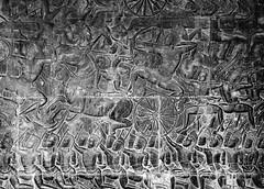 Victory at Angkor Wat (K.M. Zell) Tags: archaeology ruins cambodia temples ankgorwat khmerempire