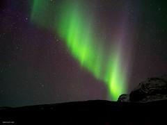 aurora at Svinafell