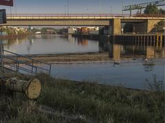Hafen am Morgen-Wasserwanderrastplatz