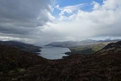 view from Ben A'an (Sean Munson) Tags: mountain lake mountains water landscape scotland highlands hiking loch trossachs scottishhighlands lochkatrine queenelizabethforestpark benaan