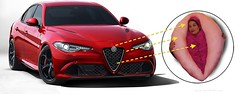 Alfa Romeo Giulia- A 10 Second Design Critique (HarborIndiana) Tags: christmas family church armpit smart car pancakes photoshop wonderful lunch penis costume pond italian puppies titties boobs slut harvard hitler wwii religion confederate trench fishtank hamburger kitties vagina ww2 alfa romeo pearl genius slot beanie alfaromeo giulia poundcake muff classy evangelical slit highbrow furburger