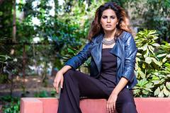 (Priyash007) Tags: blue black hot girl beautiful canon out model best jacket canon5d portfolio mumbai bold goodhair priyash priyashpahuja cinedigikstudio
