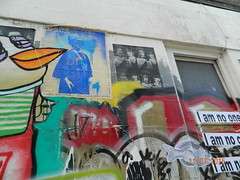 Brick Lane Street Art (Rory Llowarch) Tags: summer england streetart streets london art sunshine painting graffiti freedom artwork stencil stickerart paint artistic market mosaic political politics satire markets protest cities culture murals urbanart artists shoreditch vandalism expressionism british activism whitechapel bricklane stencilart flyposting culturejamming spraypainting bethnalgreen eastlondon protestart wheatpasting subversion subvertising bricklanemarket politicalart blf stencilgraffiti englishheritage londonengland towerhamlets spitafields ldn satirical guerrillaart subcultures lockon britishheritage bricklanelondon londonmarkets popupart streetsculptures lockons progressiveart yarnbombing whitechapellondon satiricalart smartvandalism bathnalgreenlondon