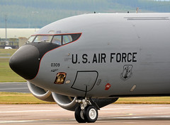 Kc135 Noseart (np1991) Tags: uk usa art wisconsin america nose scotland nikon force bigma aircraft aviation air united transport guard wing royal sigma kingdom national american planes states 50500 ang dslr tanker raf moray lossiemouth refueling 50500mm lossie a2a arw 128th d7100